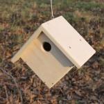 Ромбический домик для птиц №14