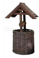 Декоративный колодец с орешника 5002