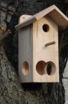 Домик для птиц с кормушкой №3