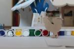 Краски Акриловые для раскраски 6 цветов