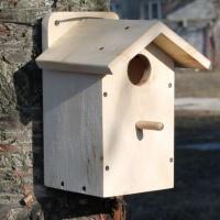 Скворечник деревянный - домик для птиц №4