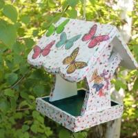 Кормушка в сад для птиц Бабочка (3618)