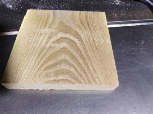 Корковый дуб заготовка 100х100х20 мм