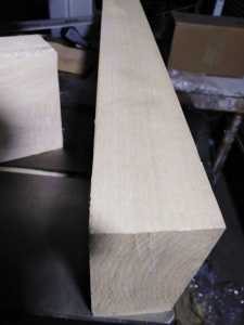 Липовые бруски для резьбы 90х90х100 мм