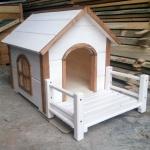 Будка деревянная Bud Large 90х46х55 (3017)