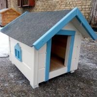 Будка деревянная для пса ( № 3034)