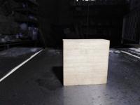 Заготовка деревянная липа 50х50х20 мм