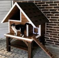 Уличный домик для кошек 2117