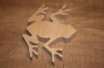 Лягушка деревянная большая