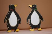Деревянный пингвин